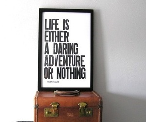 quote, life, and adventure image