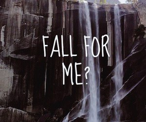 love, fall, and for image