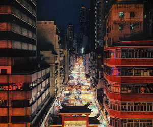 asia, chinese, and city lights image