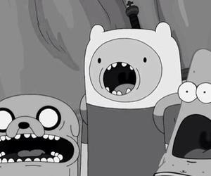 adventure time, patrick, and finn image