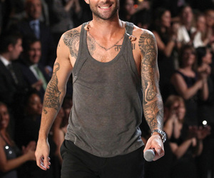 Hot, maroon 5, and tatto image
