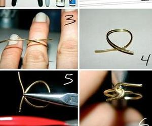 diy, gold, and jewelry image