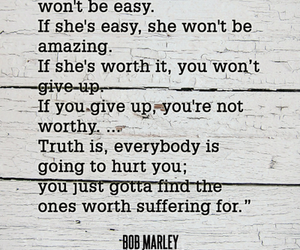 If Shes Amazing She Wont Be Easy Bob Marley