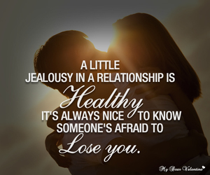 Relationship, love, and jealousy image