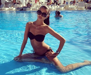 bikini, girl, and fitspo image