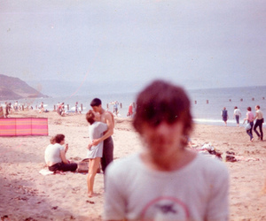 beach, boy, and photography image