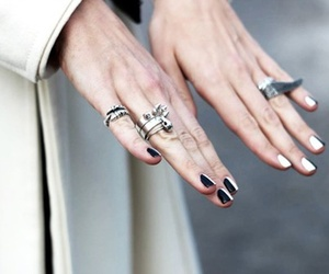 bad, gothic, and manicure image