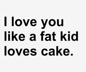 love, cake, and fat image
