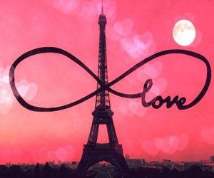 paris, love, and infinity image
