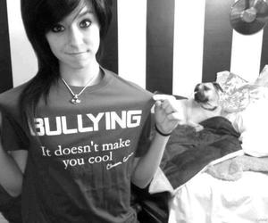bullying, quote, and christina grimmie image