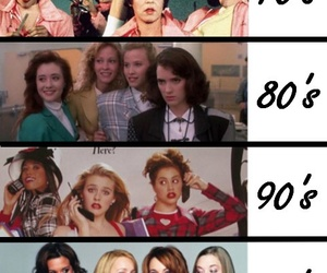 mean girls, Clueless, and 90s image
