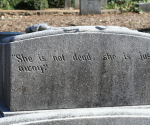 dead, away, and death image