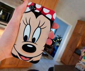 iphone and minnie image