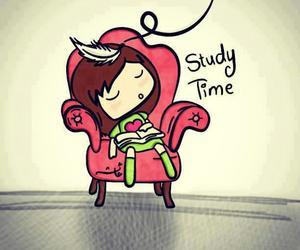 study, sleep, and school image