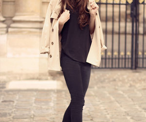 style, black, and brunette image