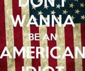 green day and american idiot image