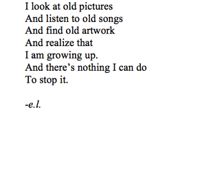 quotes, growing up, and old image