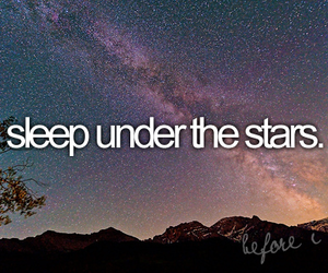 stars, sleep, and before i die image