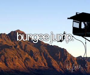 before i die, bungee jump, and jump image