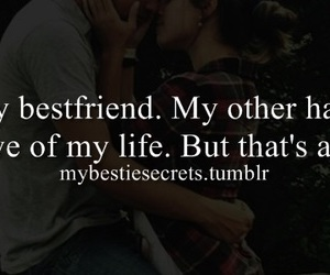 best friend, confession, and in love image