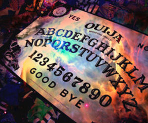 colorful, galaxy, and ouija board image