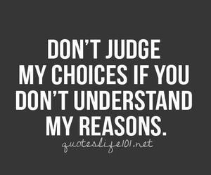 quote, judge, and reason image