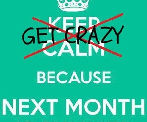 summer, keep calm, and crazy image