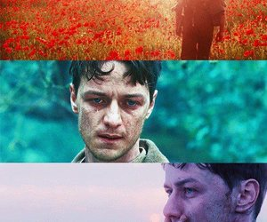 atonement, colors, and james mcavoy image