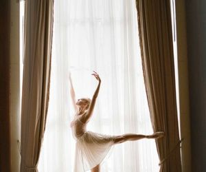 ballerina, ballet shoes, and ballet image