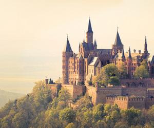 castle, hogwarts, and harry potter image
