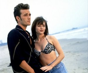 90210, luke perry, and brenda walsh image