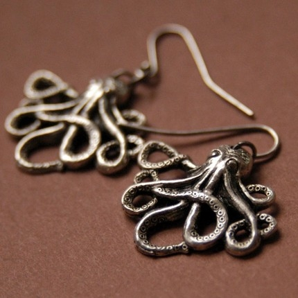 accessories, earring, and etsy image