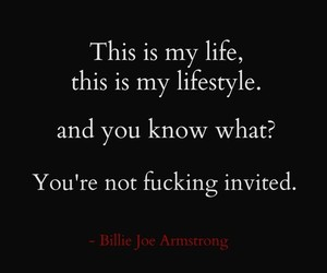 billie joe armstrong, green day, and life image