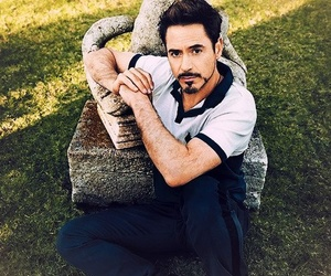 robert downey jr, iron man, and handsome image