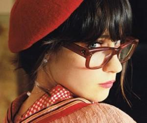 zooey deschanel, glasses, and zooey image