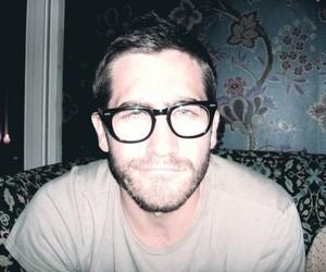 jake gyllenhaal, glasses, and boy image