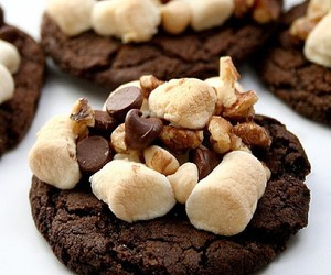 chocolate, Cookies, and delicious image