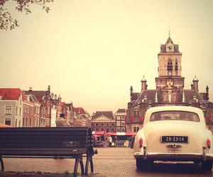 car, retro, and romantique image