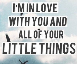 one direction, little things, and quote image