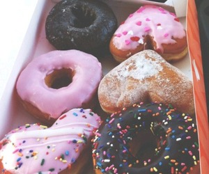 colours, donut, and tumblr image