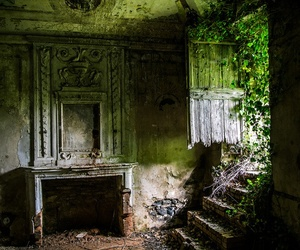 abandoned and swet image