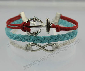 anchor, bracelet, and friendship gift image