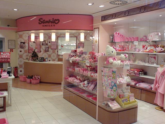 0e42650e7 Sanrio Hello Kitty Store, Hamburg on We Heart It