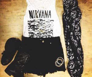 nirvana, fashion, and look image