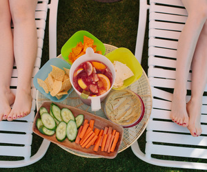 carrots, chairs, and chips image