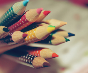 pencils and photography image