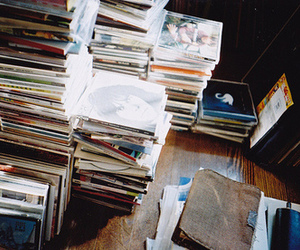 music, cd, and vintage image