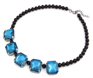 accessories, beads, and blue image