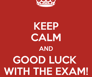 exam and luck image