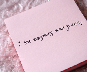 love, quote, and pink image